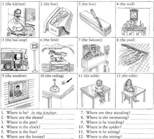 prepositions of place exercises with pictures pdf
