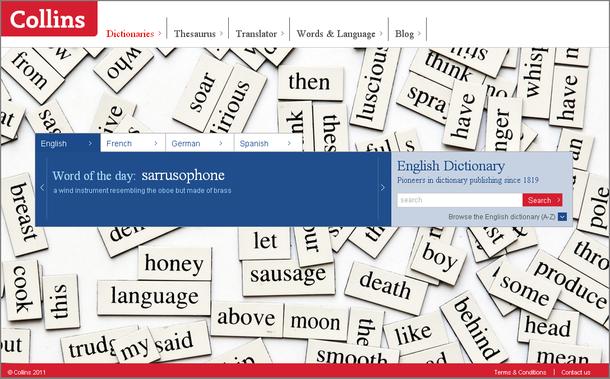 diccionario ingles en linea