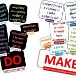 Diferencias entre DO y MAKE – Lección: uso correcto del verbo hacer en inglés