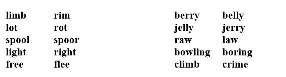 pronunciacion ingles leccion2