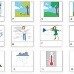 Vocabulario del clima en inglés – Lección 48 de Vocabulario