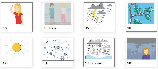 describir el clima en ingles2