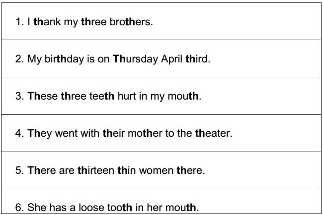 leccion de pronunciacion th 4