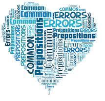 errores comunes palabras mas preposiciones