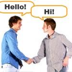 Como saludar en inglés – Small Talk