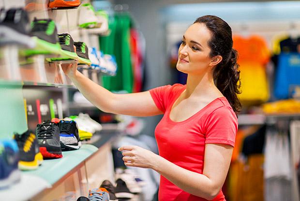 conversación en inglés comprar zapatos