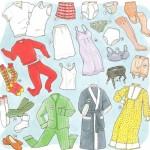 Vocabulario de Ropa en Inglés: Ropa interior y Ropa de Dormir