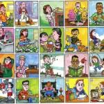 Lista de Verbos de Actividades Diarias en Inglés – Con Imágenes