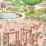 Lección de Vocabulario en inglés: El Parque